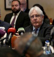Arkivbild. FN:s Jemen-sändebud Martin Griffiths. Raad Adayleh / TT NYHETSBYRÅN
