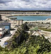 Cementas fabrik i Slite. Karl Melander/TT