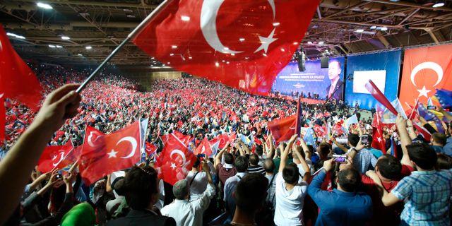 Paul Levin lyfter bland annat fram Turkiet som en auktoritär stat. Amel Emric / TT / NTB Scanpix