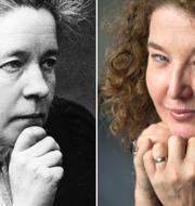 Selma Lagerlöf t.v. Anna-Karin Palm t.h. TT