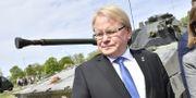 Försvarsminister Peter Hultqvist (S). Jonas Ekströmer/TT / TT NYHETSBYRÅN