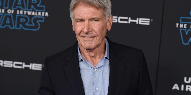 Harrison Ford. Jordan Strauss / TT NYHETSBYRÅN