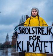 Greta Thunberg. Hanna Franzén/TT / TT NYHETSBYRÅN
