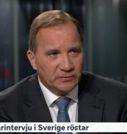 Stefan Löfven i SVT.