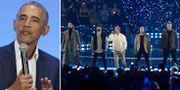 Barack Obama / Backstreet Boys.  TT
