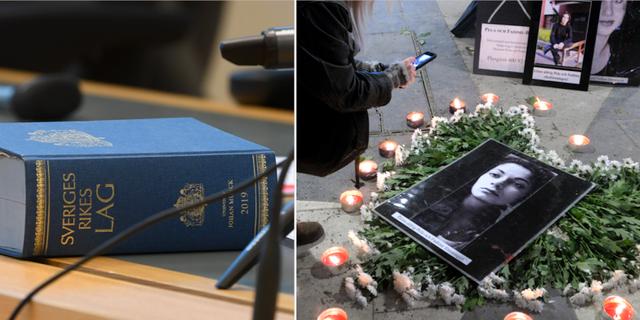 Lagbok/Manifestation mot hedersvåld.  TT