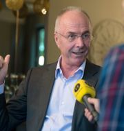 Sven-Göran Eriksson  Bertil Ericson / TT / TT NYHETSBYRÅN