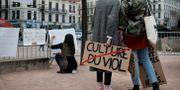 Arkivbild: Demonstration mot sexuella övergrepp i Lyon. Laurent Cipriani / TT NYHETSBYRÅN/ NTB Scanpix