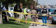 Polisen i Odessa, Texas. Mark Rogers / TT NYHETSBYRÅN