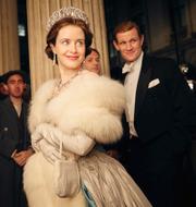 "Matt Smith (t v) och Tobias Menzies (t h) i rollen som prins Philip i ""The Crown"" TT/Netflix"
