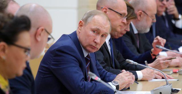 Rysslands president Vladimir Putin. SPUTNIK / TT NYHETSBYRÅN