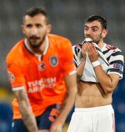 Matchen mellan Manchester United och Istanbul Basaksehir.  MURAD SEZER / BILDBYRÅN