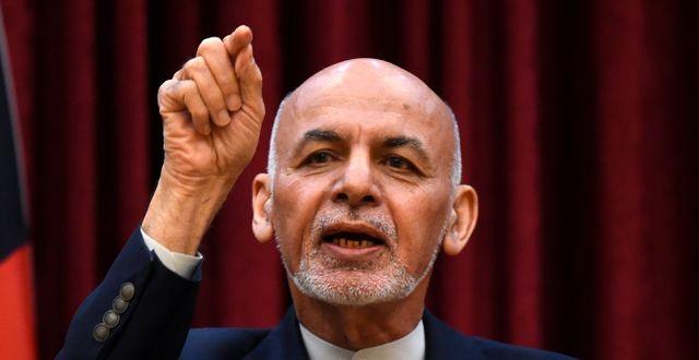 Ashraf Ghani WAKIL KOHSAR / TT NYHETSBYRÅN