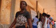 En kvinna i Togo röstar till parlamentet. Arkivbild från december 2018. MATTEO FRASCHINI KOFFI / AFP