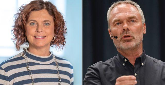Emma Carlsson Löfdahl / Jan Björklund.  Pressbild / TT