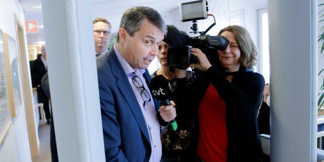 Daniel Kindberg i rättssalen. Arkivbild. Mats Andersson/TT / TT NYHETSBYRÅN
