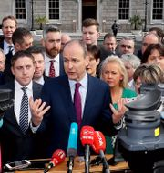 Michael Martin tros bli ny premiärminister. Brian Lawless / TT NYHETSBYRÅN