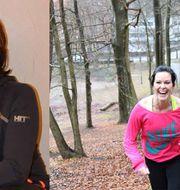 Adriana Tepichin arbetar som personlig tränare på Nordic Wellness i Täby. Privat/Nordic Wellness