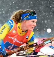 Arkivbild: Sveriges Hanna Öberg vid tävlingarna i Östersund 2019 Fredrik sandberg / TT NYHETSBYRÅN