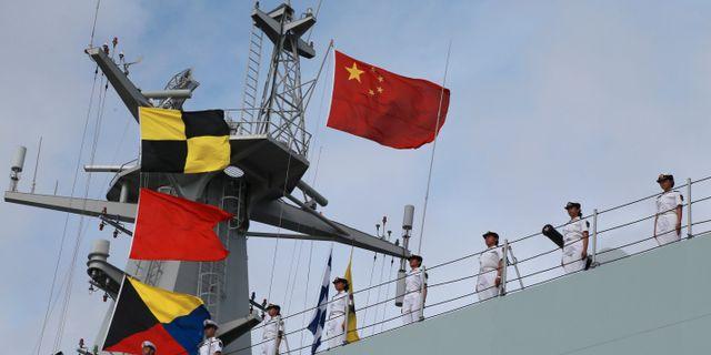 Kinas mal att bygga militarbaser utomlands