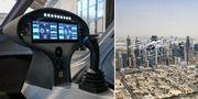 I slutet av året blir det möjligt att hoppa in i en taxi som varken har hjul eller chaufför i Dubai. Volocopter