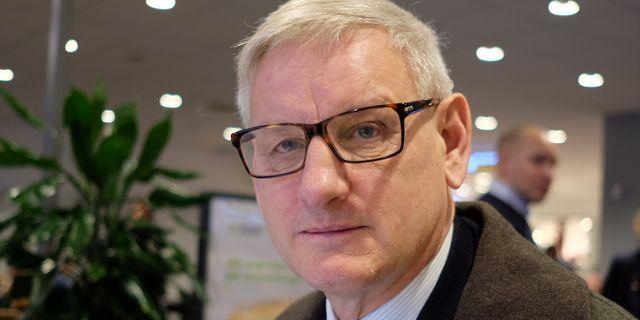 20170116 Carl Bildt, på väg till World Economic Forum i Davos. Joakim Goksör/TT / TT NYHETSBYRÅN