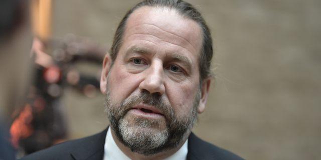 Carl-Johan Malmberg, advokat.  Pontus Lundahl/TT / TT NYHETSBYRÅN