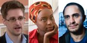 Edward Snowden/Chimamanda Ngozi Adichie/Gael Garcia TT