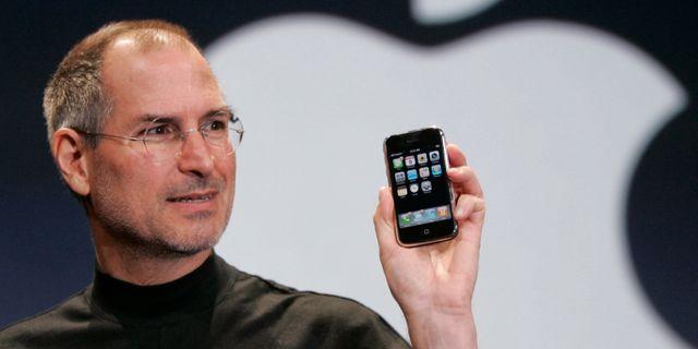 Applegrundaren Steve Jobs Paul Sakuma / TT / NTB Scanpix