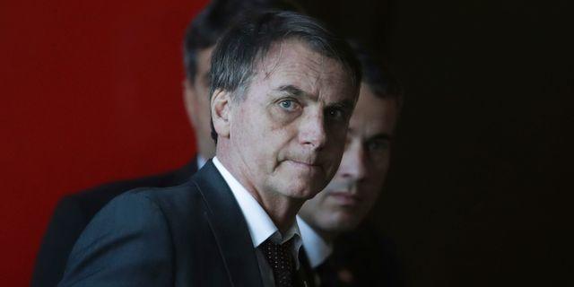 Jair Bolsonaro. Eraldo Peres / TT NYHETSBYRÅN/ NTB Scanpix