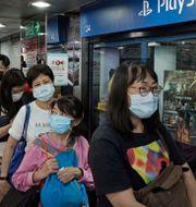 I Hongkong släpptes PS5 i september förra året. Arkivbild. Kin Cheung / TT NYHETSBYRÅN