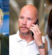 Christin Jansson, Nissavarvet, Tony Barosen, Bemanningsstyrkan i Rosersberg, och Jenny Eriksson, Westaflex, är alla besvikna över att LO stoppade LAS-uppgörelsen. Tommy Hvitfeldt, Sören Andersson och TT/Adam Ihse