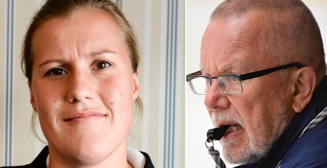 Emma Eliasson och Leif Boork. TT