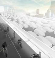 BMW:s framtidsvision för vägar. BMW (pressbild)