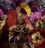 Arkivbild: Från karnevalen i Rio de Janeiro i Brasilien, februari 2020.  Leo Correa / TT NYHETSBYRÅN