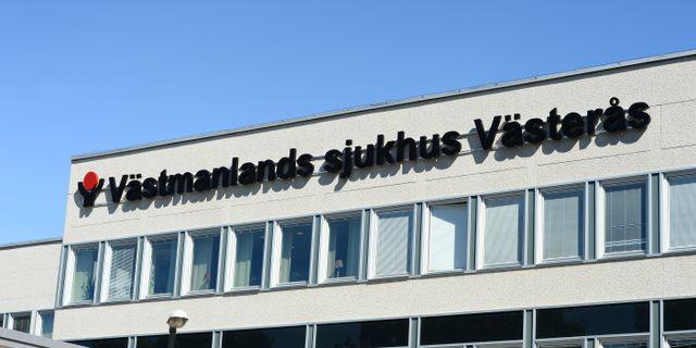 Västmanlands sjukhus. Maja Suslin/TT / TT NYHETSBYRÅN