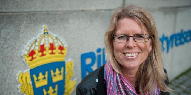 Åsa Elfving.  LEIF R JANSSON / TT / TT NYHETSBYRÅN