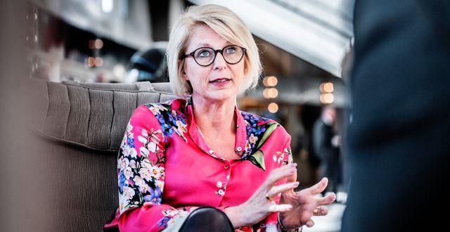 Elisabeth Svantesson (M). Arkivbild. Tomas Oneborg/SvD/TT / TT NYHETSBYRÅN