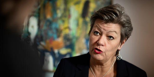 Ylva Johansson (S) Naina Helén Jåma/TT / TT NYHETSBYRÅN
