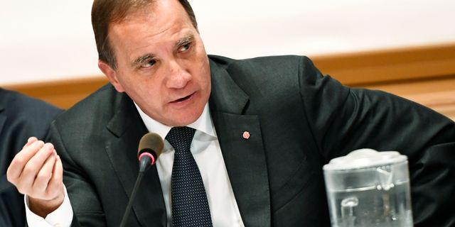 Stefan Löfven (S) på EU-toppmötet. Henrik Montgomery/TT / TT NYHETSBYRÅN