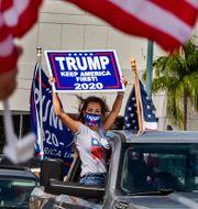Arkivbild: Trumpväljare i Miami Pedro Portal / TT NYHETSBYRÅN