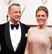 Tom Hanks och Rita Wilson. Jordan Strauss / TT NYHETSBYRÅN