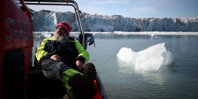 Kim Holmén, internationell direktör på Norska Polarinstitutet. Hannah Mckay / TT NYHETSBYRÅN