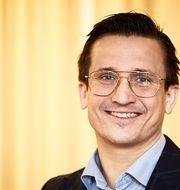 Vd Andreas Wahlén. Pressbild