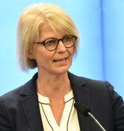 Moderaternas ekonomisk-politiska talesperson Elisabeth Svantesson.  Henrik Montgomery/TT / TT NYHETSBYRÅN