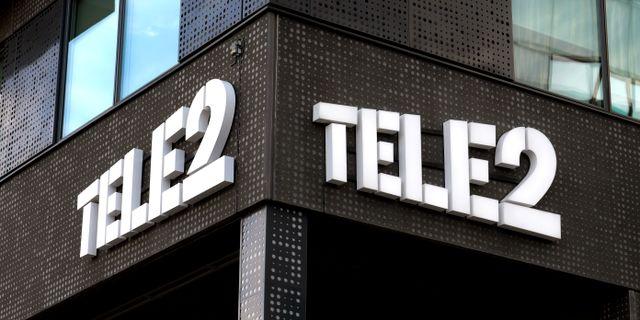 Tele2. Arkivbild. Janerik Henriksson/TT / TT NYHETSBYRÅN