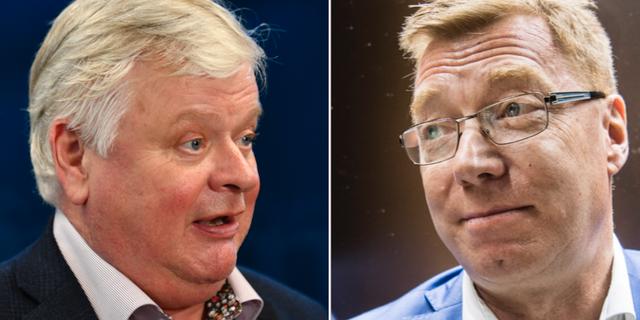 Lars-Ingvar Ljungman (M) och Leif Gripenstam (M). TT