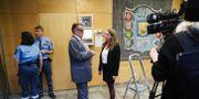 Försvarsadvokat Bertil Dahl och kammaråklagare Anna Lander i Linköpings tingsrätt. Rättegången om högskoleprovsfusket startade i november och pågår under vintern.   Jeppe Gustafsson/TT / TT NYHETSBYRÅN