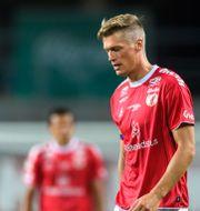 Kalmars Viktor Elm deppar. SUVAD MRKONJIC / BILDBYRÅN