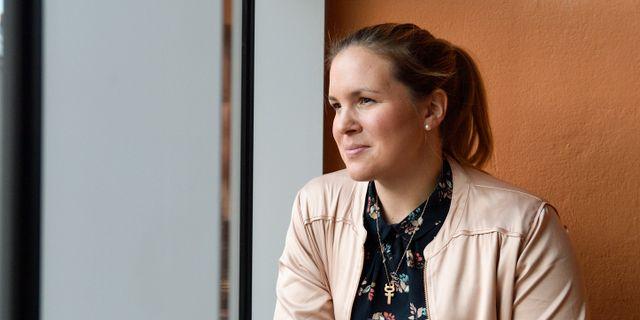 Anja Pärson. Henrik Montgomery/TT / TT NYHETSBYRÅN